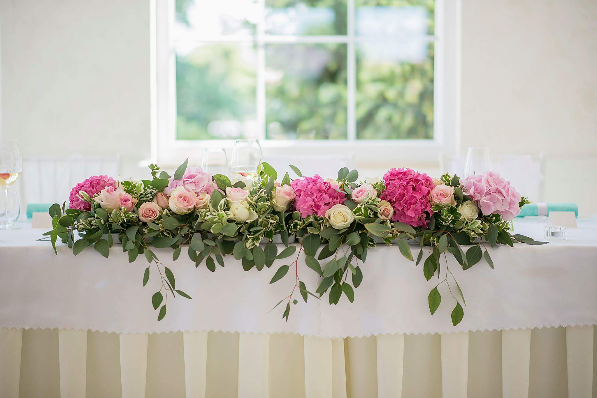 Romantic svadba